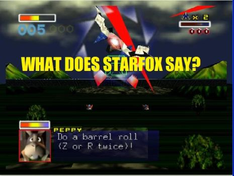 What Does Starfox Say? by sega31098