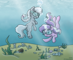 Under the sea (KP-ShadowSquirrel) by CrowleyFiM