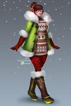 Christmas Mei concept by OlchaS