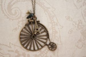One Cycle Necklace France by YourSweetTreat