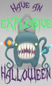 Have An EXPLOSIVE Halloween! by michaellines5683