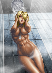 Shower Time by Master-MAG00