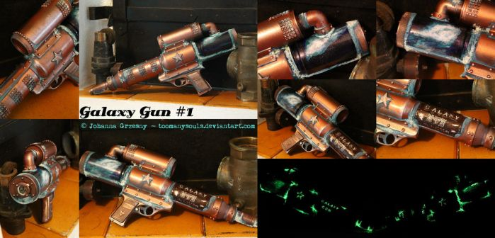 Galaxy Gun #1 - Details by TooManySouls