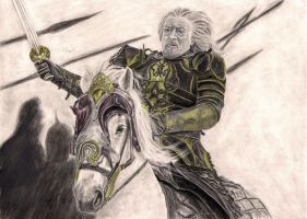 Riders of Theoden by Hallarhoswen