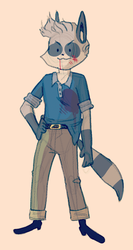 guess who hes dressed as by foxwithmoustache