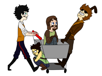 when the origins crew goes shopping together by keepplayinghackysack