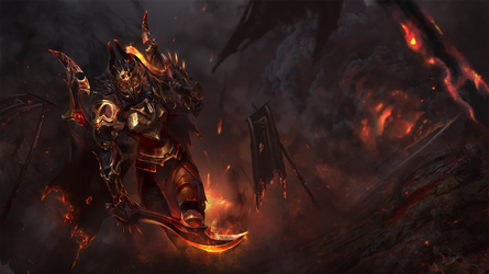 Athene's Flames - 2nd Style Loading Screen by TrungTH
