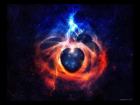 The heart of the universe by Swaroop