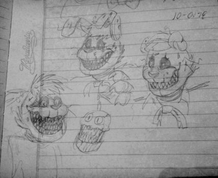 five nights at Flippy's (nightmares) [1/2] by Mary-Volt-htf
