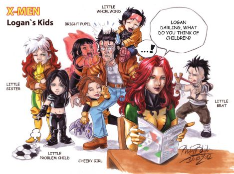 Logan`s Kids by Abbadon82