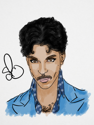 Prince by StevePaulMyers