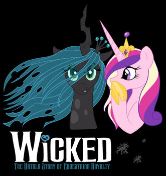 Wicked Pony Poster by ClutterCluster
