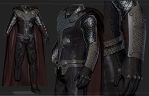 Asgardian Armor For Skyrim 2 by Zerofrust