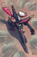 Commission - Gwen Kill La Kill by Josh-Ulrich
