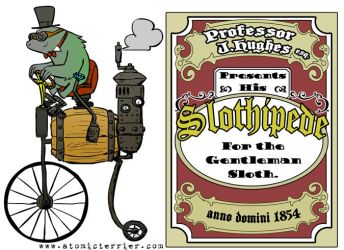 The Gentlemans Slothipede by AtomicTerrier