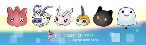 Digimon Icons by edenprojects