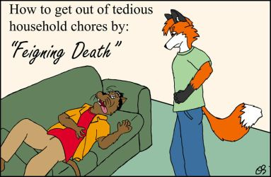 Feigning-death by cabcat by cabcat
