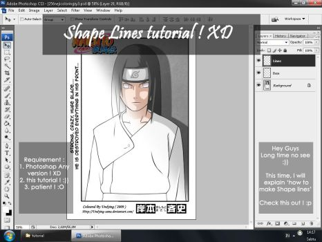 Shape lines Tutorial by undying-sama