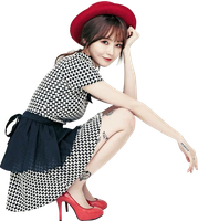 Min Kyung (Davichi) Render PNG by classicluv