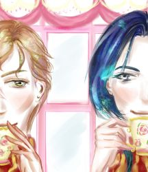 Remus and Sirius at Madam Puddifoot's by Abyss-Valkyrie