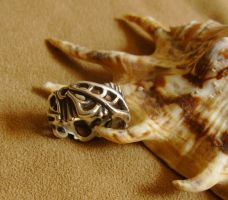 Mechanical Butterfly Ring by GeshaR