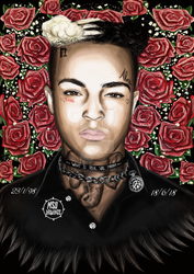 XXXtentacion By MSUdrawings by MSUdrawings