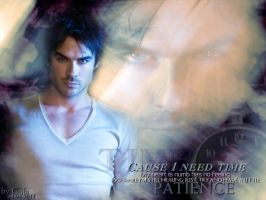 Damon Salvatore by Gula1