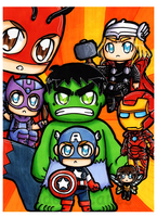 Avengers Assemble by CuddlyCapes