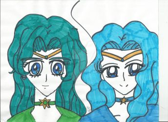 Sailor Neptune by sailor-kitty19