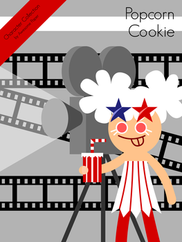 Character Collection #40 - Popcorn Cookie by AwesomePaper