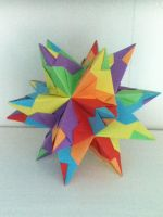 Great Stellated Dodecahedron by DaughterofBeast23