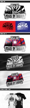Esports 'Made in Taiwan' Branding by PHLiNNk