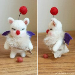 Needlefelt Moogle by post-hummus