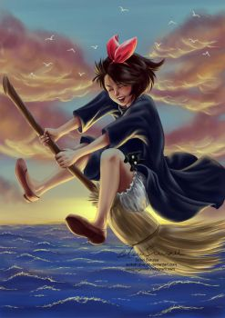 Kiki's Delivery Service by Surkuhupainen