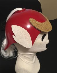 Final Fantasy V Samurai Hat by tacksidermia
