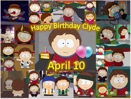 Clyde Donovan Collage- Happy Birthday Clyde by SapphireBlaze483