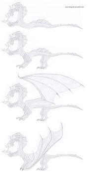 Hydra - Serpent/Drake/Dragon/Wyvern concepts by Guy-Inkognito