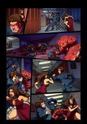 Night Wolf Comic Book Issue #2 Page 10 Colors by RAM-Horn