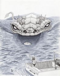 AlphaBeasts Week XII: L is for Leviathan by SamWolk