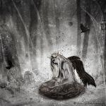 Swirling fragments of grief by Shades-Of-Lethe