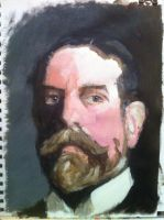 Ben Pook - John Singer Sargent - Work in Progress by pook1983