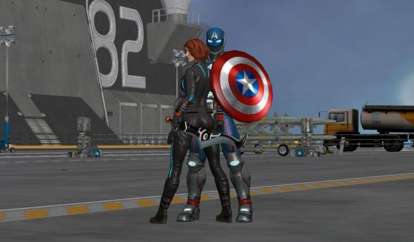 CapXWidow by WOLFBLADE111