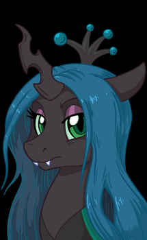 Queen Chrysalis Con Commission by LateCustomer