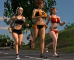 Morning Jog Revisited by willdial