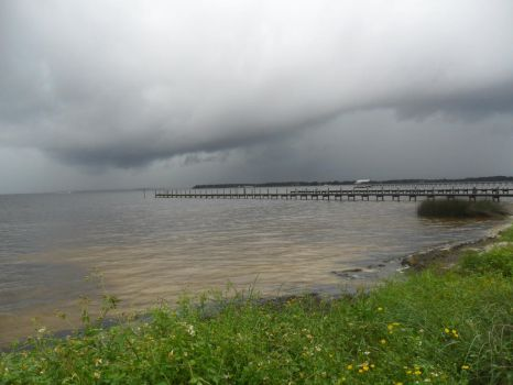 Storms over the bay by Pardryll