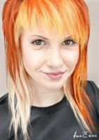 hayley williams by alohadeath