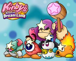 Kirby's Return to Dreamland: Super Enemies by BoxBird