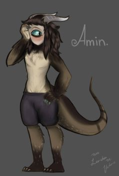 Amin. Original Character of Lau-Chan by Victoric-Official