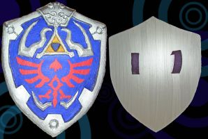 Hylian Shield by Eressea-sama