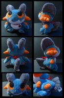 Swampert Plush by Ashayx